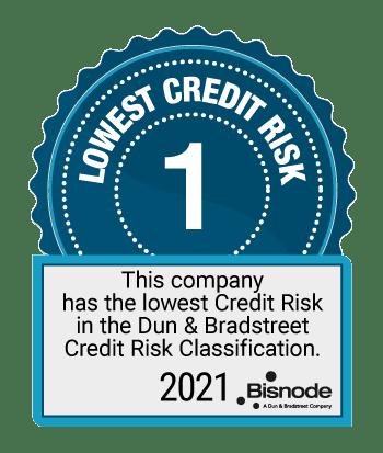 AA Hyvä luottokelpoisuus Bisnode 2021
